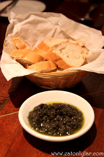 Bread and Olive Pâté, La Risata