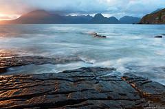 Elgol , Isle of Skye - Scotland (Tommaso Renzi) Tags: sunset skye beach scotland tommaso cullins elgol renzi