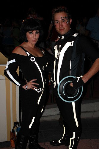 Tron costumes (guests)