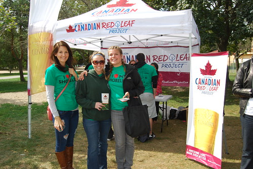 Molson Canadian Red Leaf Project/Great Canadian Shoreline Cleanup - Woodbine Beach Park, Toronto