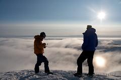 Protektorfjellet, Spitsbergen, Svalbard (Svein Petter) Tags: winter mountain snow ski sport norway photography norge vinter skiing downhill svalbard arctic adventure alpine backcountry telemark freeride spitsbergen fjell snø randonee topptur arktis