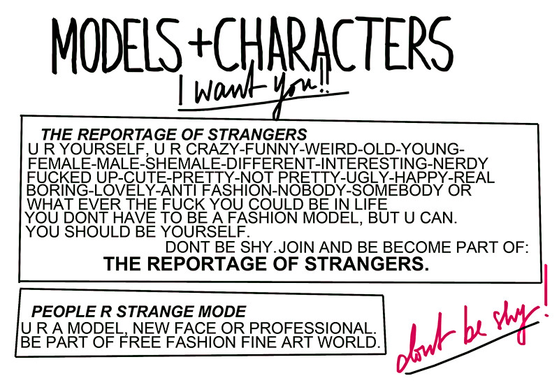 MODELS AND CHARACTERSS