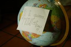 The world is yours (Luna Nerea | Daysleeper) Tags: world is el yours es mundo globo tuyo terraqueo