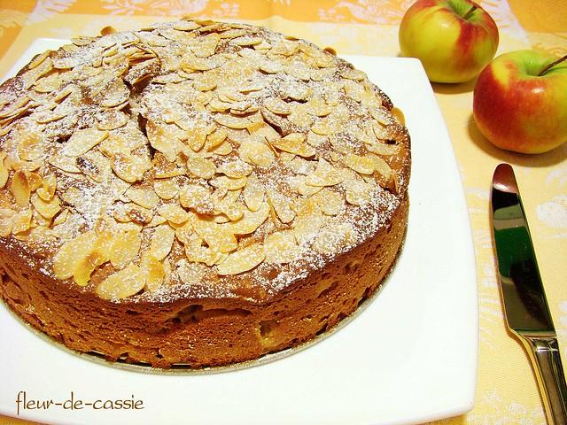 яблочный пирог с филадельфией 1