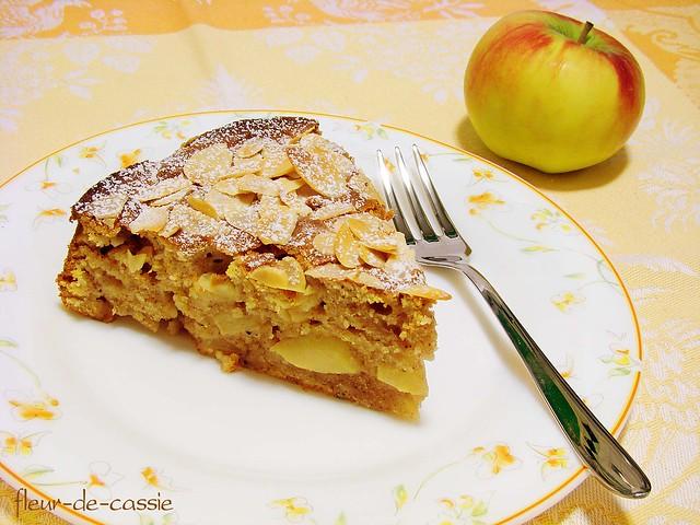 яблочный пирог с филадельфией 2