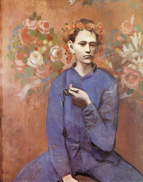 Boy with a Pipe [1905]
