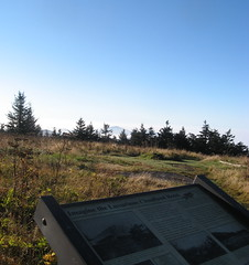 Hotel site at Roan High Knob Photo