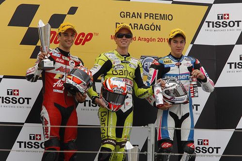 Podium 125cc GP Aragon