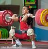 Hernandez Yoelmis CUB 85kg (Rob Macklem) Tags: world turkey cub championship antalya olympic weightlifting hernandez 2010 iwf 85kg yoelmis