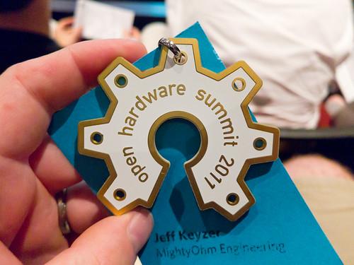 OH Summit 2011 Badge