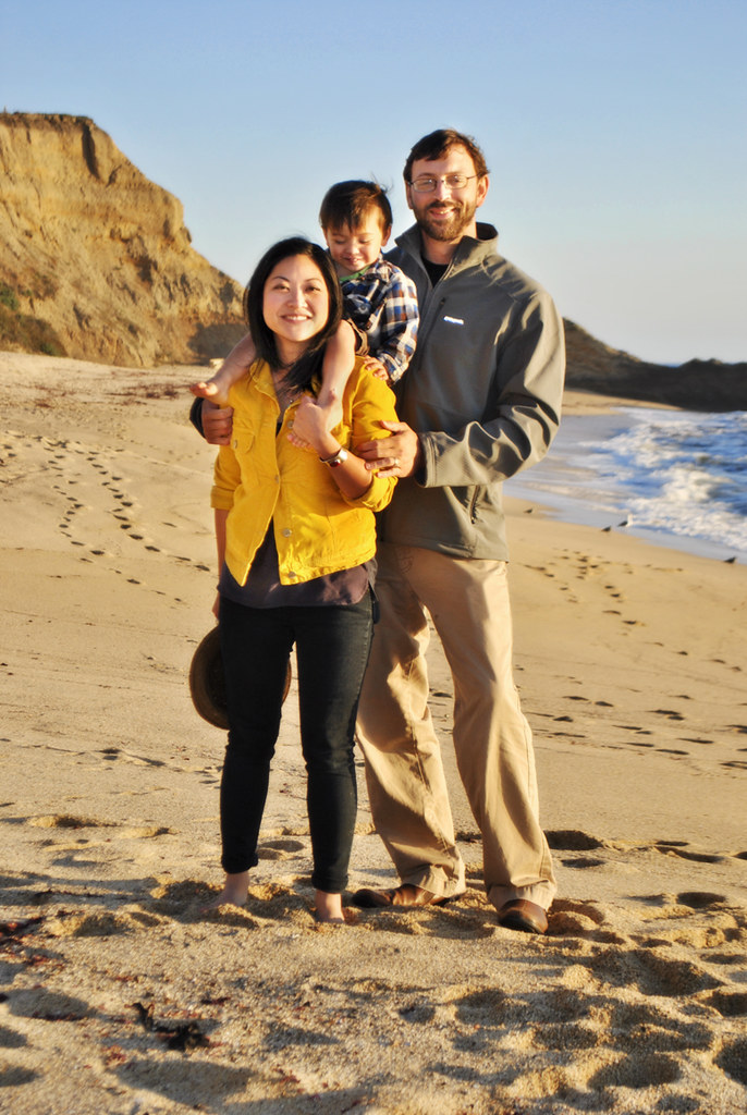 Half Moon Bay - a Beach - My Family