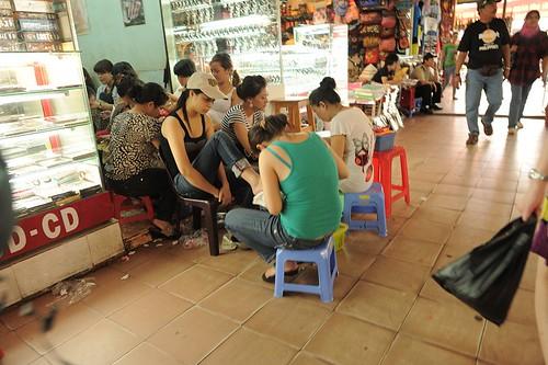 Nail Parlor at BenThanh Market
