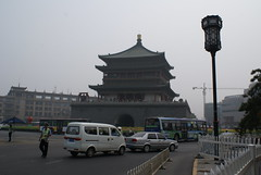 Xi'an Bell Tower - center of the city