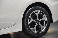 Opel Ampera fitted with Michelin Energy Saver (rezulteo) Tags: auto show cars car wheel sport energy frankfurt wheels citroen continental tire super exhibition tires porsche bmw michelin pilot maserati tyres tyre opel sportscar iaa saver pirelli 2011 pzero contisportcontact5