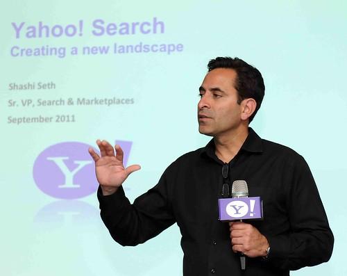 Yahoo!搜尋產品資深副總裁Shashi Seth介紹Yahoo!創新搜尋產品_2