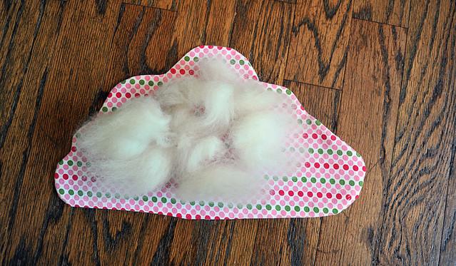 Wool stuffing