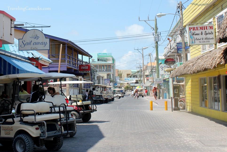 Streets of San Pedro, Ambergris Caye Belize