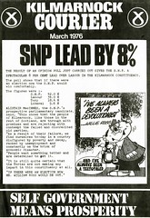 SNP Newsletter, 1976 (Scottish Political Archive) Tags: party scotland scottish national publicity courier campaign kilmarnock newsletter snp