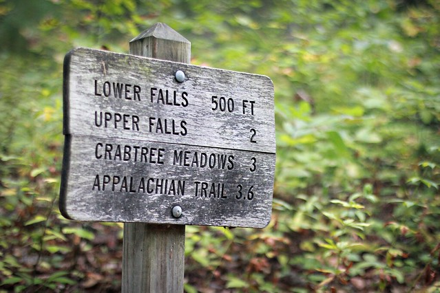 crabtree falls trail, virginia