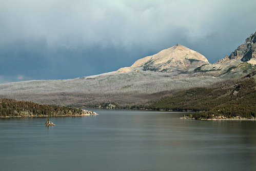 Wild Goose Island in Glacier National Park by Patrick Berden