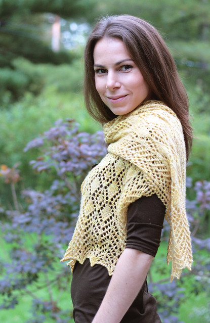 Fairview Scarf Pattern - Sneak peak