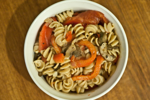 Roasted Red Pepper Pasta 2