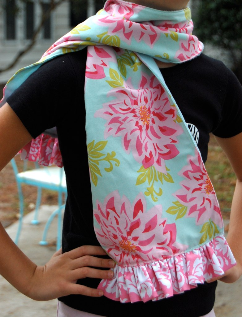 super soft ruffle scarf