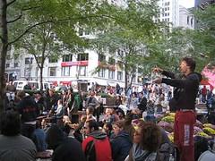 MVI_0219 (reflectification) Tags: newyorkcity ga march rally protest financialdistrict wallstreet encampment nuevayork generalassembly occupation bankers libertyplaza zuccottipark novayorque occupywallstreet tomalabolsa banskers