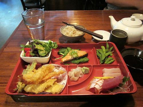 sashimi bento!