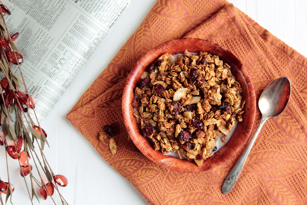 ... had a spoonful of this granola, you would know exactly what I mean