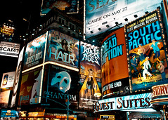 Broadway Shows (sunil.subramanian) Tags: camera nyc newyorkcity travel people ny newyork love tourism beer colors yellow dark hair subway photography lights google nikon opera dad photographer tour theatre photos taxi theend broadway tourist tony gifts wicked southpacific when lincoln getty billboards nights nightshots cocacola hotels sunil carrie phantom advertisements tonight loud hbo scam bing lincolncenter humane sbarro meltingpot trafic phantomoftheopera revival adamsfamily nyctaxi jerseyboys mnm may18 d90 rockofages greatphotos adobelightroom belongsto thebestphotos ringexcellence sunilsubramanian