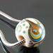 Charm bead : Peacock's tail