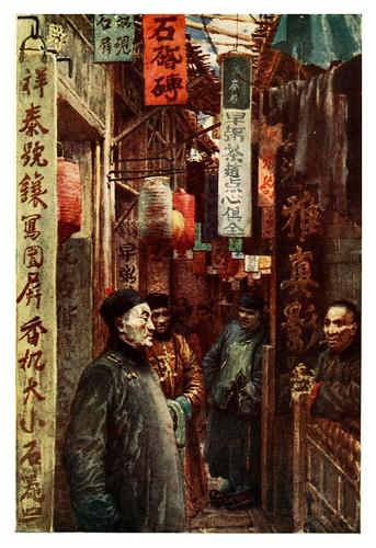 005-Una calle de ciudad-China 1910- Norman H. Hardy