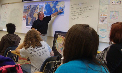 Shreveport Geological Society speakers in Caddo Magnet High geography classes by trudeau