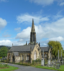 Mortuary Chapel, Edgerton Cemetery, Huddersfield by Tim Green aka atoach