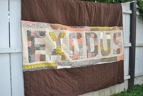 Exodus Quilt From Left