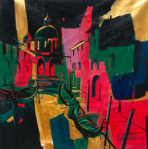 Venice    Painting Original