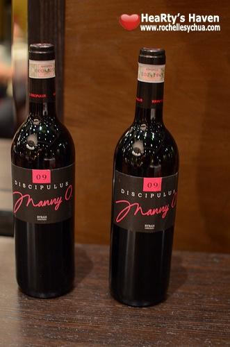 Jasmine Restaurant Manny O wines