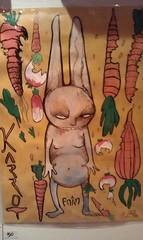 asr 3 (mc1984) Tags: art ink artist acrylic transformation handmade drawings eat carrot lapin mutation carotte oceania posca évolution mc1984 wererabbit métamorphosis mutantbunny aleister236 moxland freshtox photodeannasophierobles kitchenetterestaurant