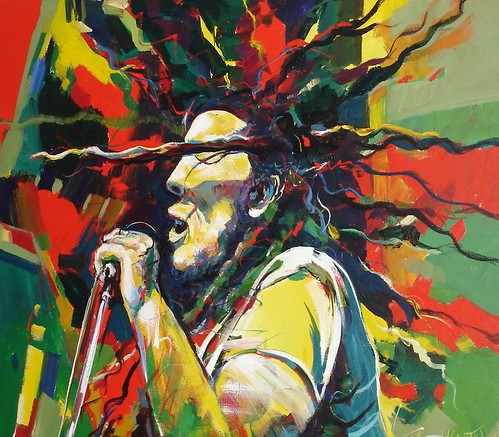 Marley - Painting - Modern Expressionism
