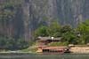 Pak Ou village (-AX-) Tags: laos luangprabang mekongriver banpakou