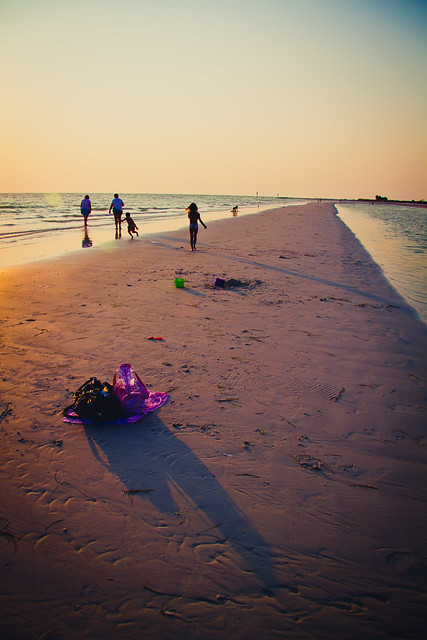 Honeymoon Island Sand Bar