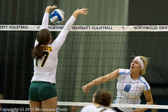 NCAA Volleyball (n8xd) Tags: girls woman net college sports girl female ball nikon women university action michigan womens volleyball shorts f2 vs northern volley northwood collegiate vollyball 200mm pallavolo f20 voleibol plfoli 2011 nmu glvc  siatkwka  volleyboll  gliac d3s  microwavephoto volleyeuse    eitpheil