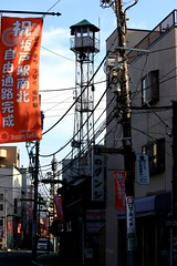 日の出町の火の見櫓(坂戸市)