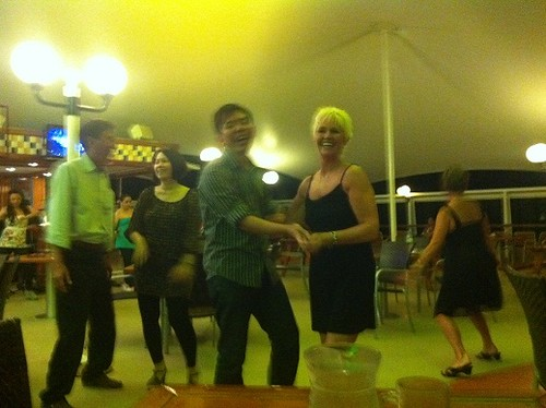 Ryan dancing with Jill