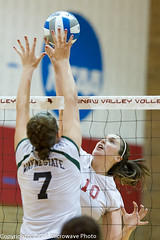 NCAA Volleyball (n8xd) Tags: girls woman net college sports girl female ball nikon women university state action wayne womens valley volleyball svsu shorts f2 vs volley collegiate vollyball 200mm pallavolo saginaw f20 voleibol plfoli 2011 glvc  siatkwka  volleyboll  gliac d3s  microwavephoto volleyeuse    eitpheil