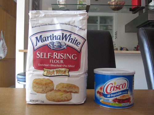 martha white and Crisco