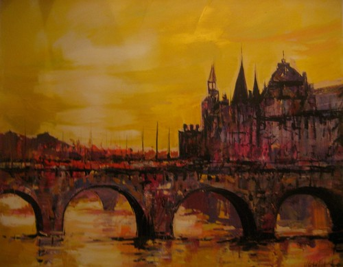 Paris by Night - Painting - Impressionism