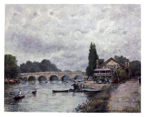 015-Maidenhead-The Thames-1906- Mortimer Menpes