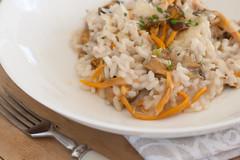 Lehterkantarellirisoto / Yellow chantarelle risotto (Pille - Nami-nami) Tags: food recipe recipes naminami